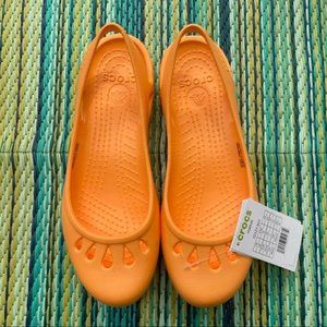 CROCS Malindi Sling Back Flats Shoes - SIZE 9